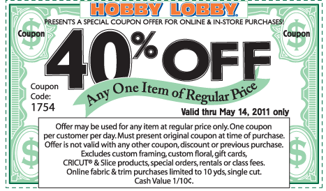 Hobby Lobby Coupons Coupon Kip Your Daily Coupon Site