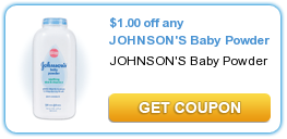 $  1.00 off any JOHNSON'S Baby Powder